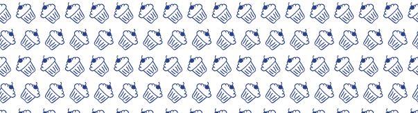 cupcakepatternbanner thumb Hand Drawn Seamless Cup Cake Pattern