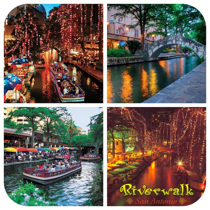 Located in the heart of downtown San Antonio, The River Walk (also known as Paseo del Río) i