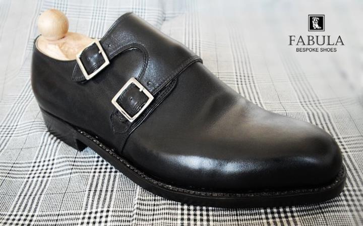 Unique handmade, bespoke men's shoes. Modell:Double Monk.
