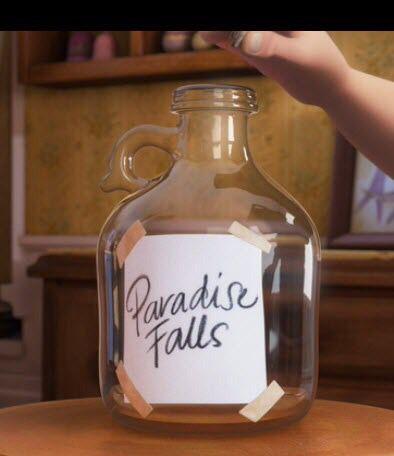 Paradise Falls Jar