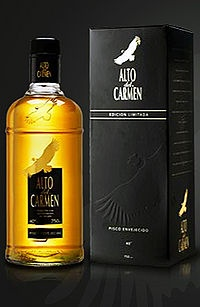 Alto del Carmen, very good pisco. The best ever!!!