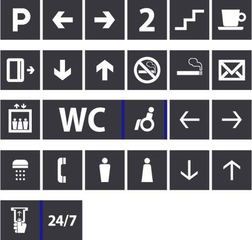 95 best images about map symbol on pinterest icon set for Indoor navigation design