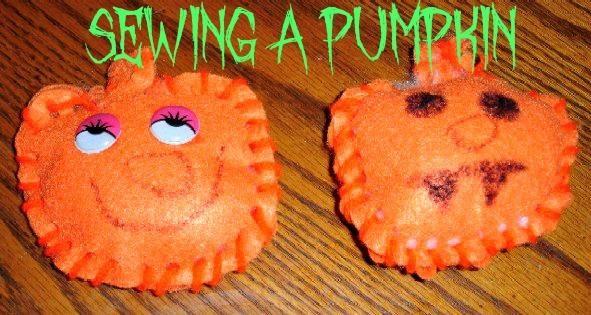 DIY Sewing A Pumpkin DIY Fall Crafts DIY Halloween Decor