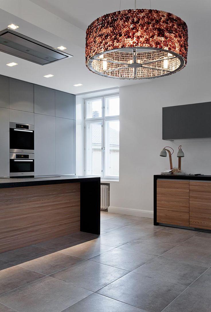 JOARC I ARCHITECTS • Interiors • grey and timber kitchen, apartment renovation