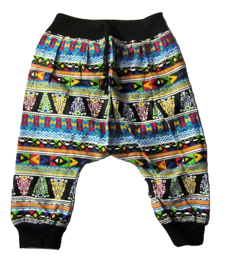Kids Aztec Pant - Blue