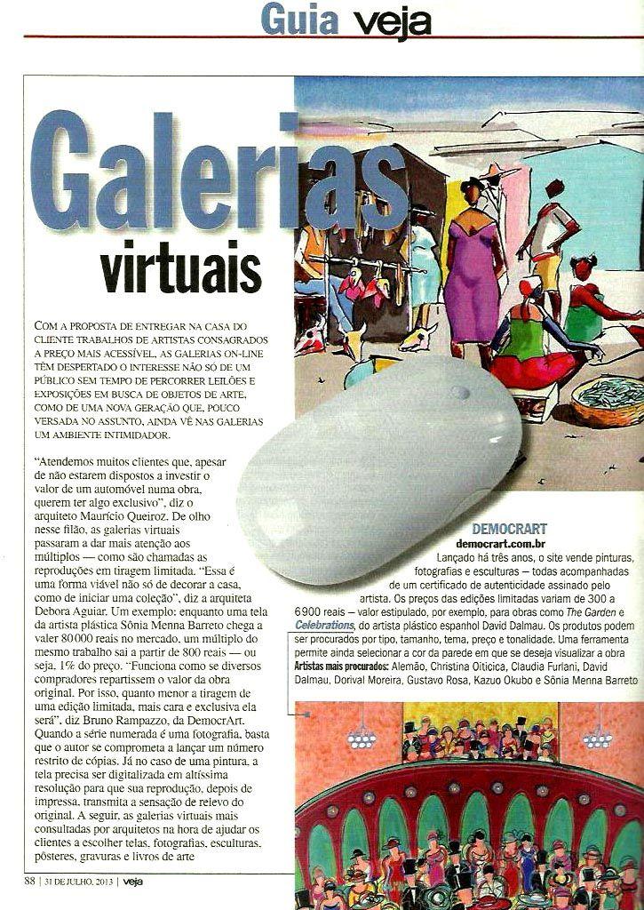 Galeria de Gravura - Revista Veja