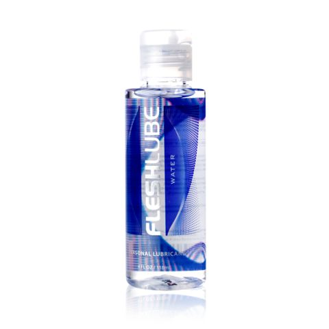 Fleshlight Water Based Lubricant 118ml - Fleshlube Water is made from the highest quality medical grade ingredients and provides a silky smooth experience that enhances sexual pleasures.