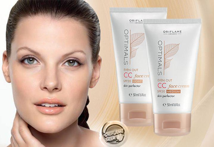 Optimals even out SS krema prekriva tamne fleke i sprečava njihovo pojavljivanje *posvetljuje ten *u trenutku koriguje boju *redukuje proširene pore *teksturu kože čini mekšom *pomaže pri sprečavanju preuranjenog starenja *celodnevna mat završnica *hidrira kožu *3F 20