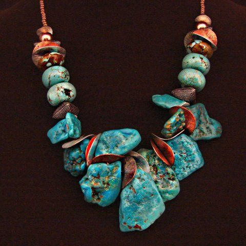 I first fell in love with some of the indigenous rocks and jewelry designs when I was there years ago.