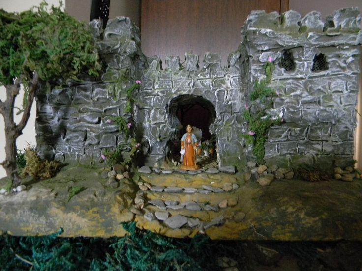 02 Castillo Herodes de día. Castillo e interiores elaborado por Mj Naranjo