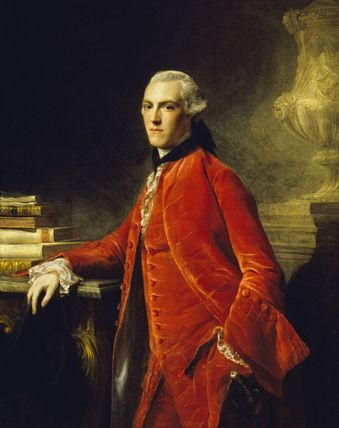 WILLIAM COLYEAR, VISCOUNT MILSINGTON, LATER 3rd EARL OF PORTMORE (1745-1823) by Allan Ramsay