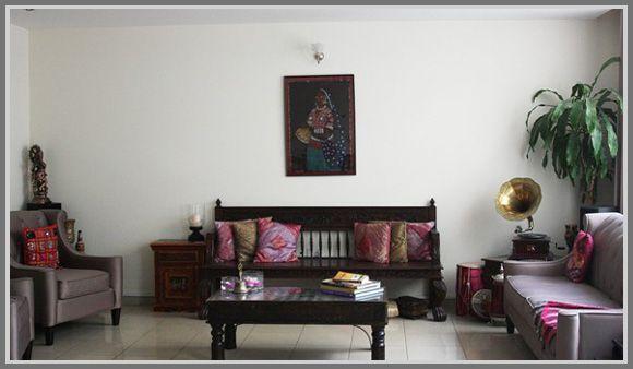 Art Deco Indian Interior Living Room Design E I S Art