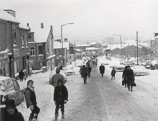 Snow 1984 - barkerend road Bradford |