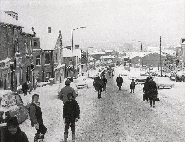 Snow 1984 - barkerend road Bradford  