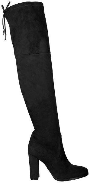 Zwarte Evaluna Lange laarzen 9210