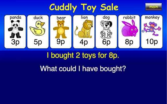 Cuddly Toy Sale - 6-11 year olds - Topmarks