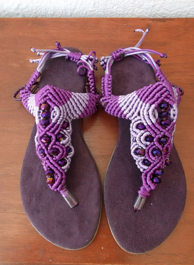 Sandalias Tejidas En Crochet Para Bebes 0 3 6 Y 9 Meses Bsf 100