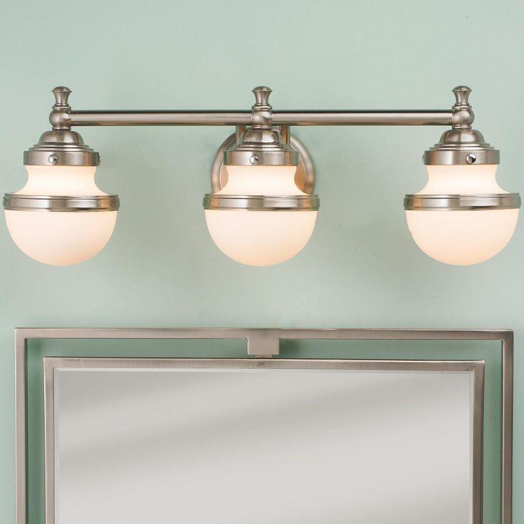 Retro Shade Bath Light 3 Light