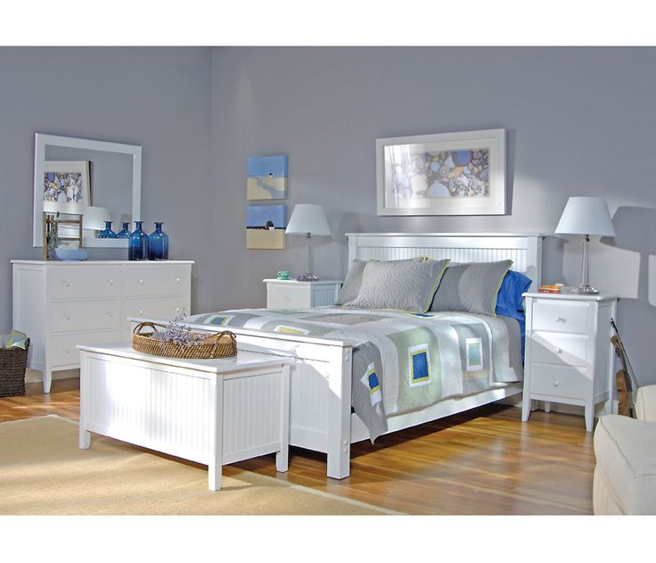Cottage Queen Panel Bed At Boston Interiors Decorating