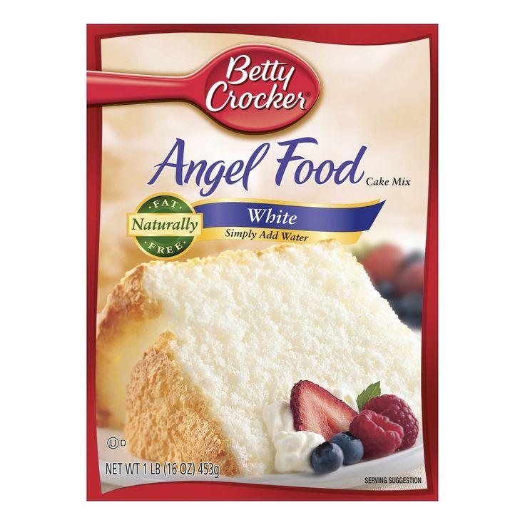 Betty crocker angel food white cake mix 16oz angel