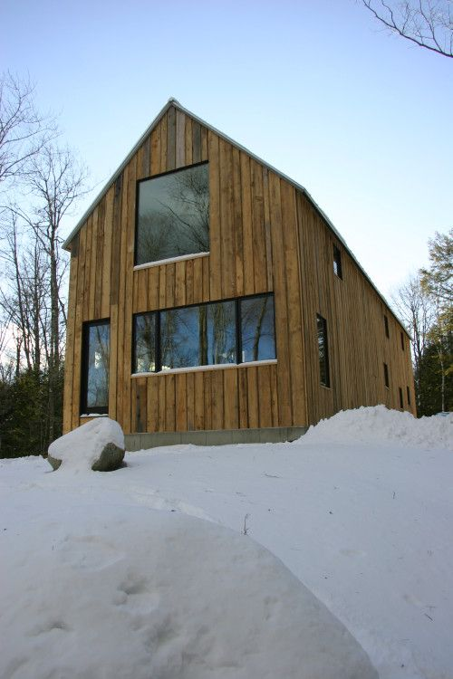 Eagle Pond House   Experiences in Designing and Building a Modern Home in New Hampshire   Page 2