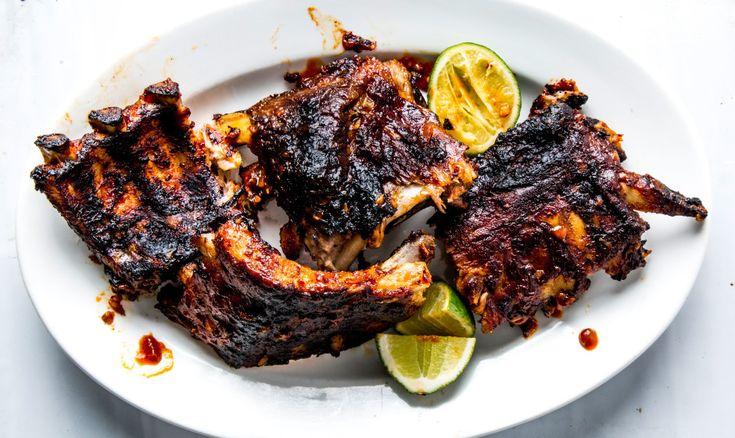 Barbecue Ribs with Gochujang Sauce Recipe