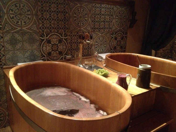 Lazne Pramen: Beer and Wine spa - Prague, Czech Republic