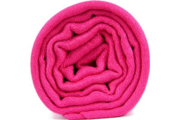 Pashmina rose fushia fluo pour femme