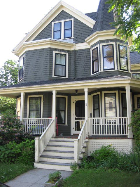 25 best ideas about victorian homes exterior on pinterest for New victorian style homes