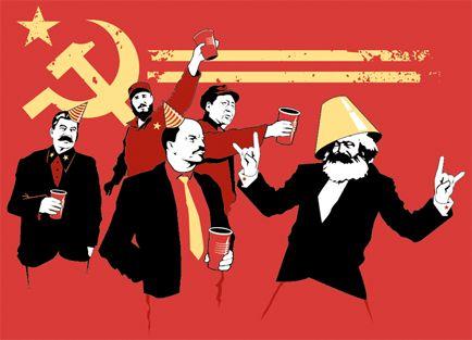 Communist Party t-shirt - Funny Political Tees at ShirtShovel.com
