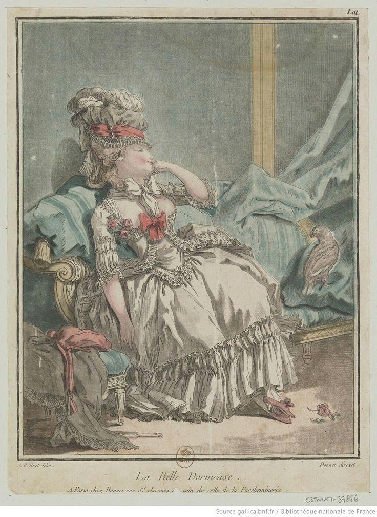 Titre:La Belle Dormeuse. : [estampe] / J. B. Huet delin. ; Bonnet direxit. Auteur:Bonnet, Louis-Marin (1743-1793). Graveur Auteur:Huet, Jean-Baptiste (1745-1811). Dessinateur du modèle Date d'édition:17..