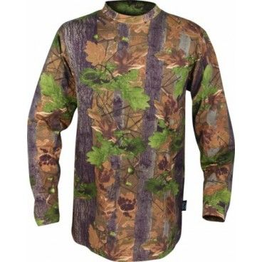 Camiseta Caza Manga Larga Jack Pyke Oak Camuflaje Roble Ingles. Ahora en descuento.