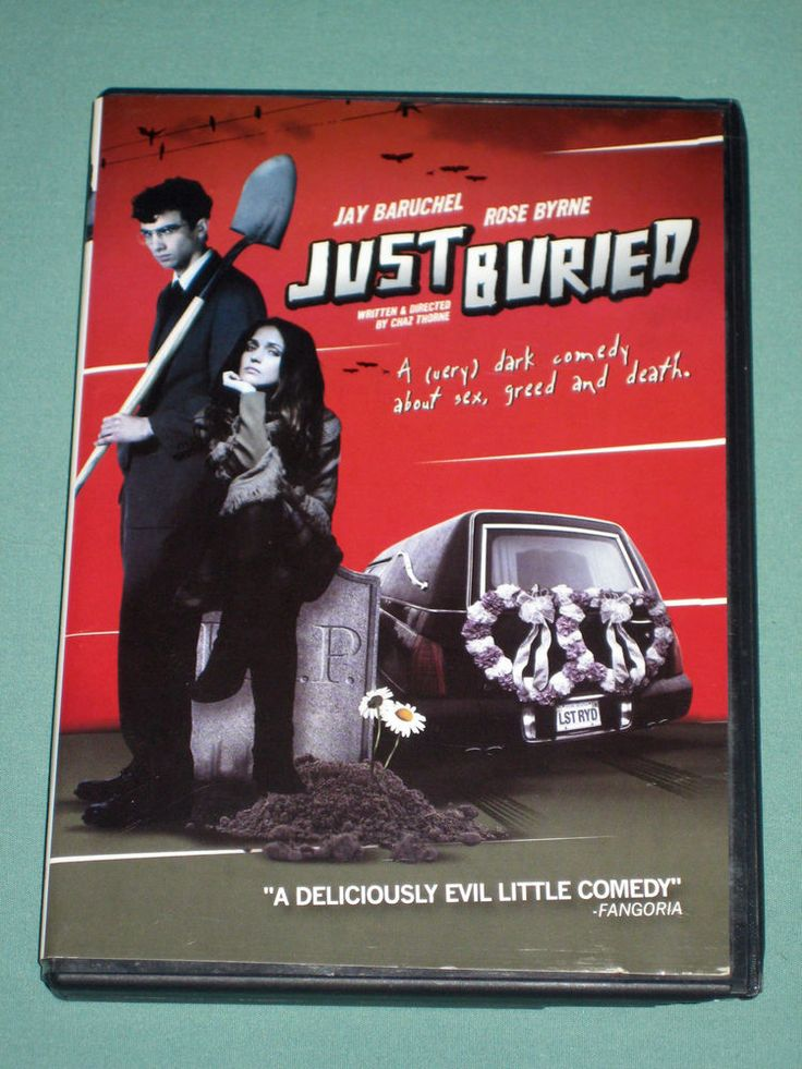 Just Buried DVD dark comedy movie (Eng 2007 WS) J Baruchel R Byrne Graham Greene | eBay