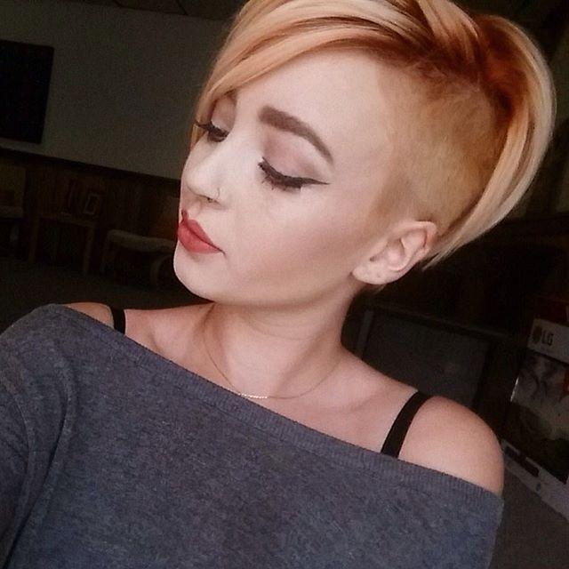 Fresh haircut for @allyohhday and amazing fall color done by @scottymayi #southjerseyhair #bumbleandbumble #undercut #tiffanidoughertyhair