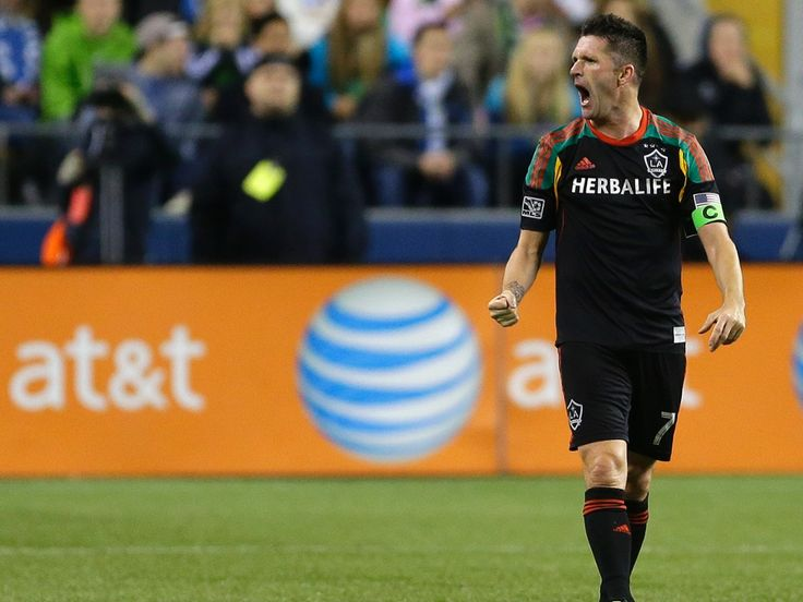 Robbie Keane: happy in LA chasing a third straight MLS Cup