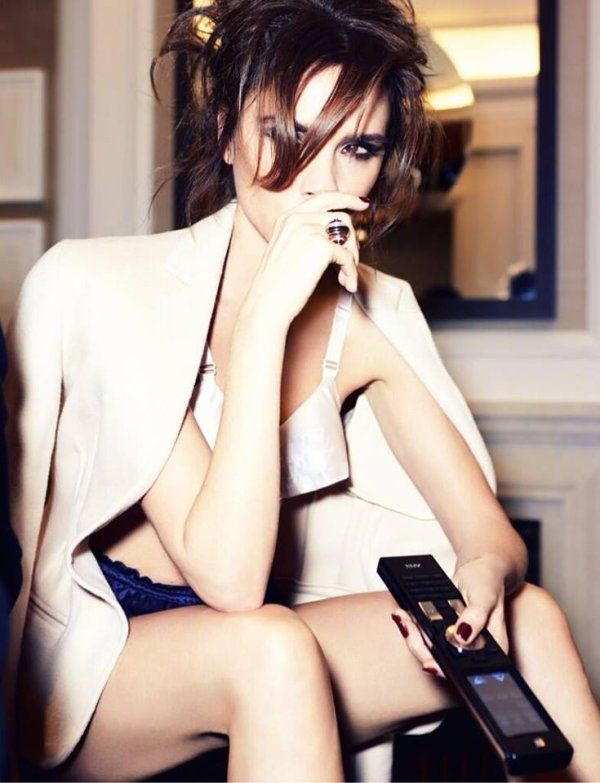 Victoria Beckham by Ellen von Unwerth for Harper's Bazaar Singapore September 2013 _