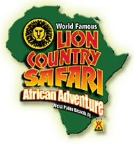 Lion Country Safari.  It's like Bear Country but African! Drive through Safari in Florida, them camp in the koa next door. Sleep next to lions!!