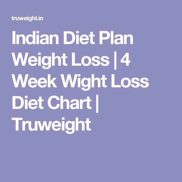 Indian Diet Plan Weight Loss 4 Week Wight Loss Diet Chart