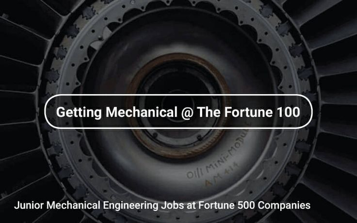 #Junior #Mechanical#Engineering ⚙️ Jobs at #Fortune500 Companies https://tapwage.com/channel/getting-mechanical-the-fortune-100