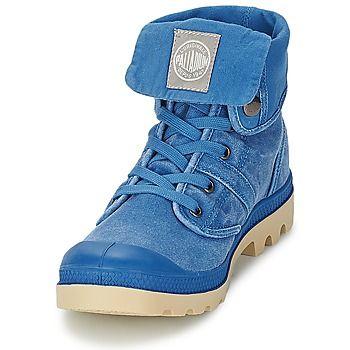 Boots / Chaussures montantes Palladium BAGGY CVS Bleu 350x350