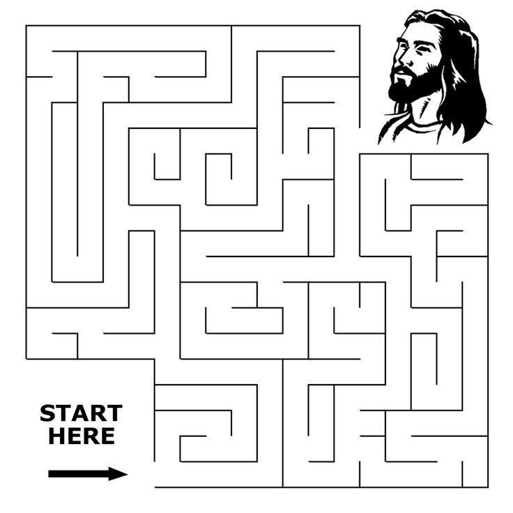 Finding the Way Maze Sermons4Kids God 39 n Faith