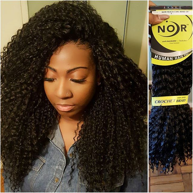 "#mulpix  New Hair Alert   From @janetcollection ""Beach Curl""  Flawless…"
