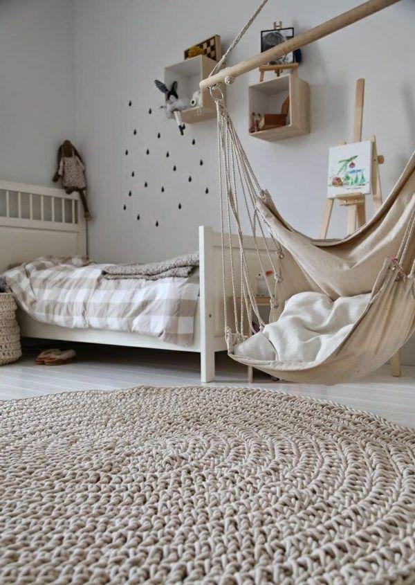Balançoire hamac pour la chambre enfant