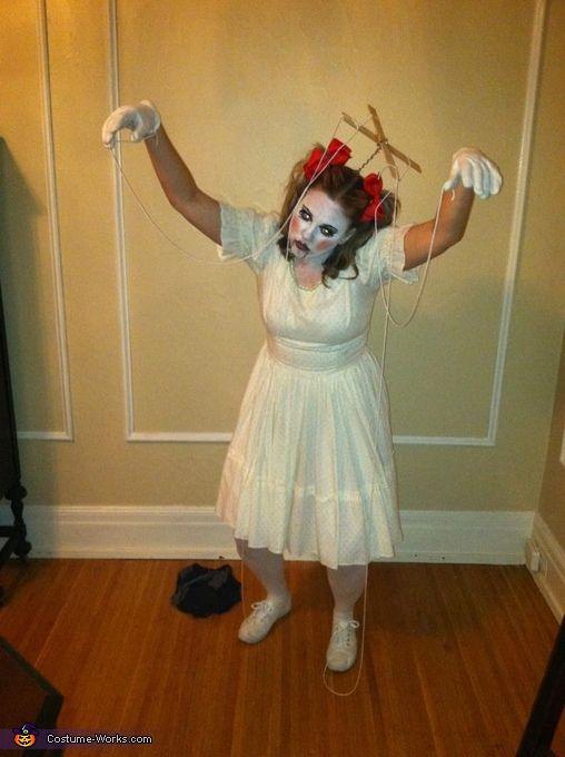 Marionette Doll - Halloween Costume Contest via @costume_works