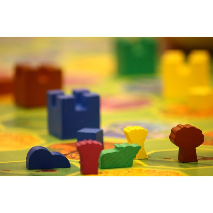 Game pieces of our game Lorrein    http://www.sensalot.com/lorrein/