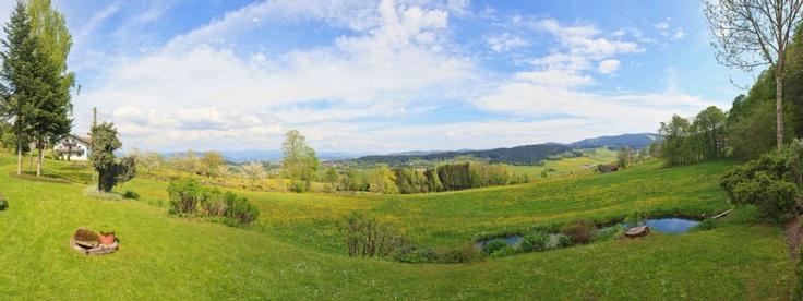 Panorama von der Terrasse