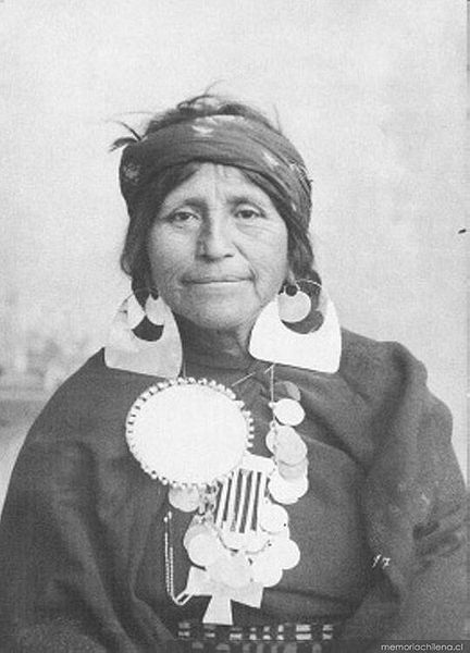 A mapuche woman. Indigenous Peoples in Native South America: Chile and Argentina