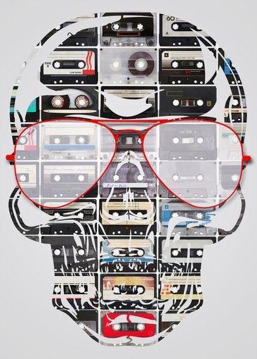 ☆ Skull Audio Tapes.。Art By :→: RUSS ☆