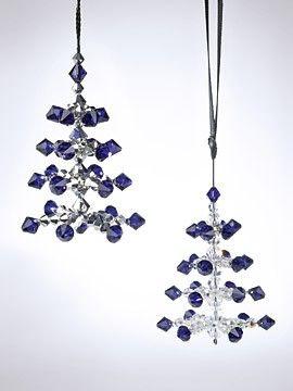 CHRISTMAS TREE ORNAMENT SILENT NIGHT - CREATE YOUR STYLE - Swarovski