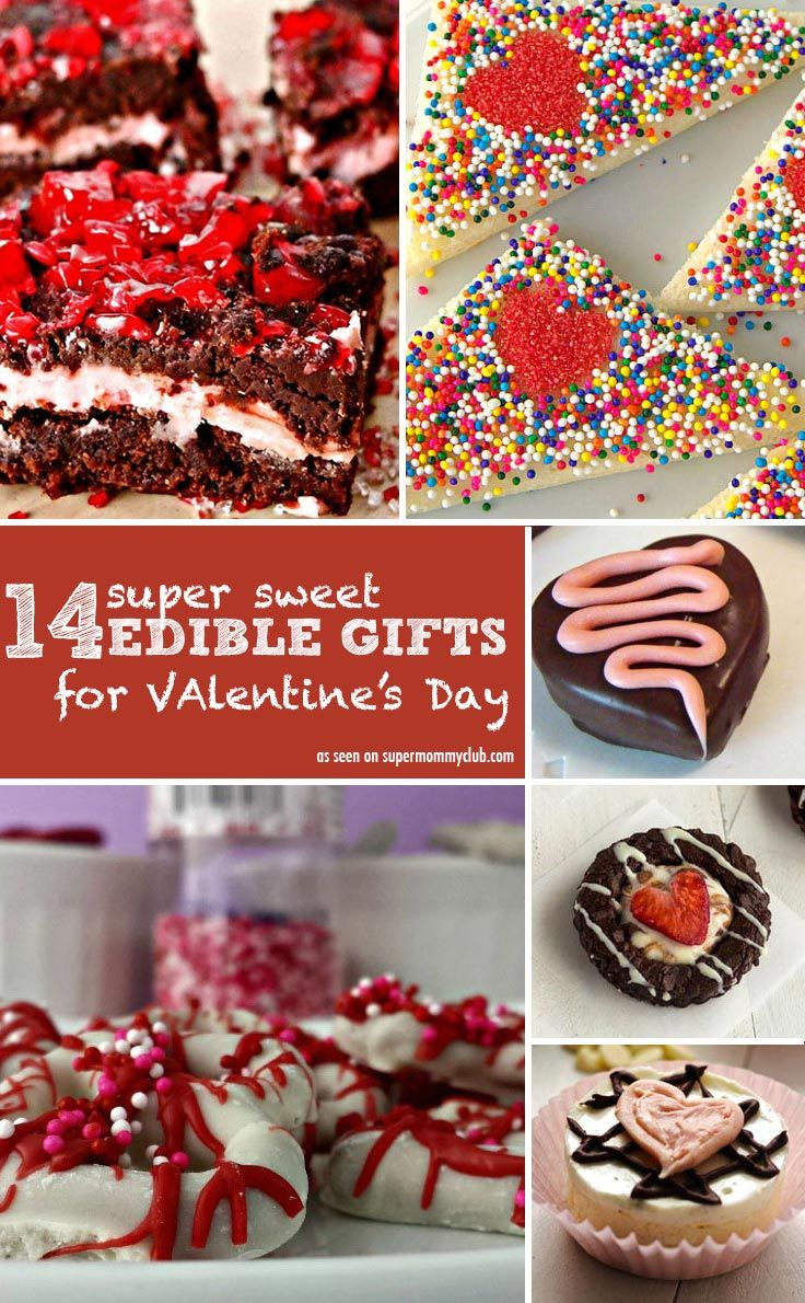 Delicious recipes that make great edible gifts for Valentine's Day
